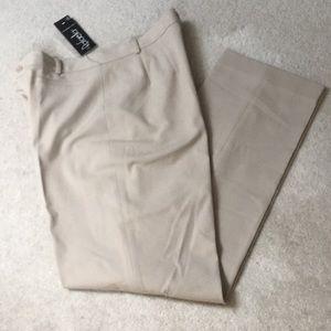 Khaki colored dress pants